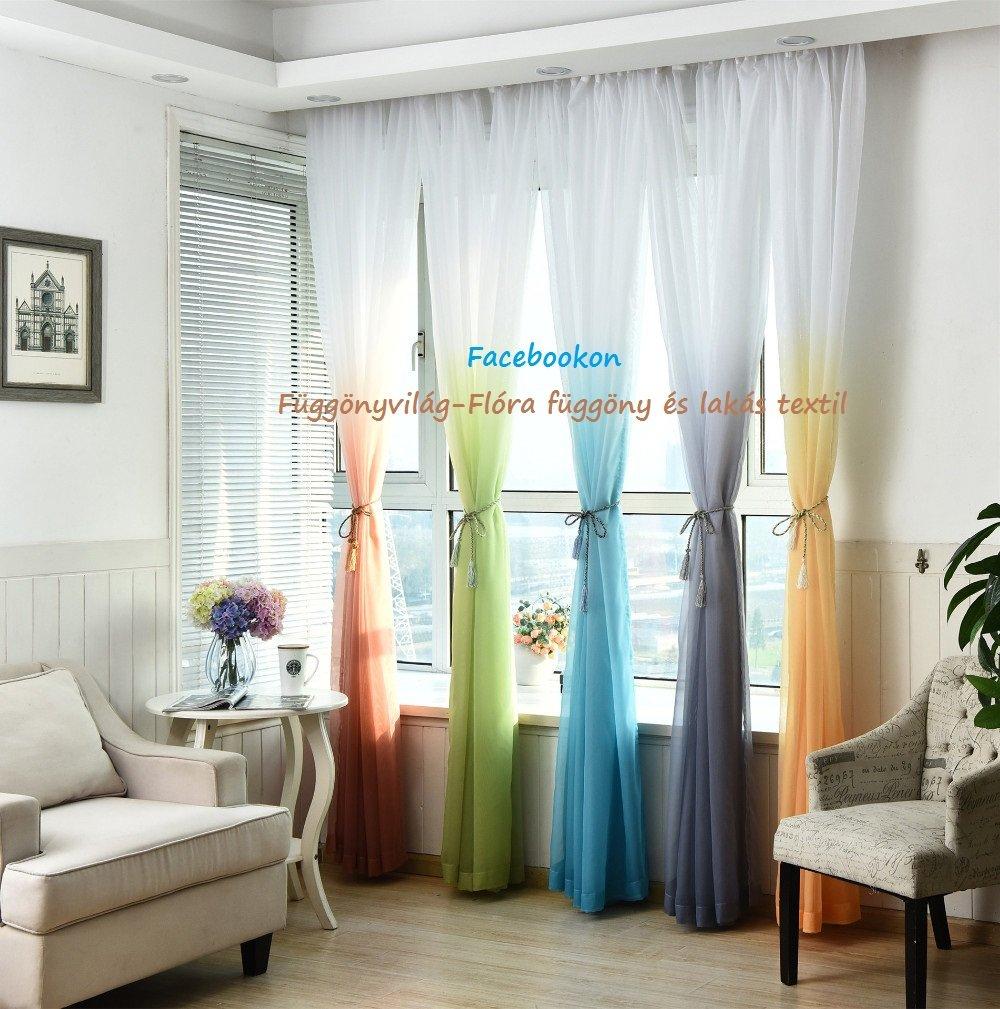 Kész függöny - Függöny Webáruház és lakástextil - Flóra 97406b8857