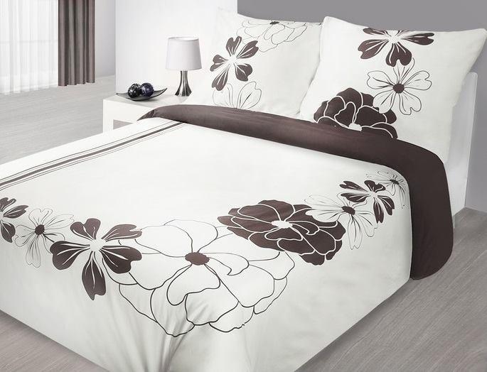 Virágos pamut - szatén ágynemű garnitúra - Függöny Webáruház és ... a559d70afc