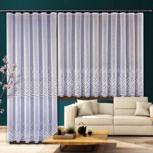 Boltíves függöny - Függöny Webáruház és lakástextil - Flóra 97a6e8ba86